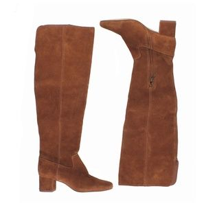 New MADEWELL Walker Over-the-Knee Boot in Suede